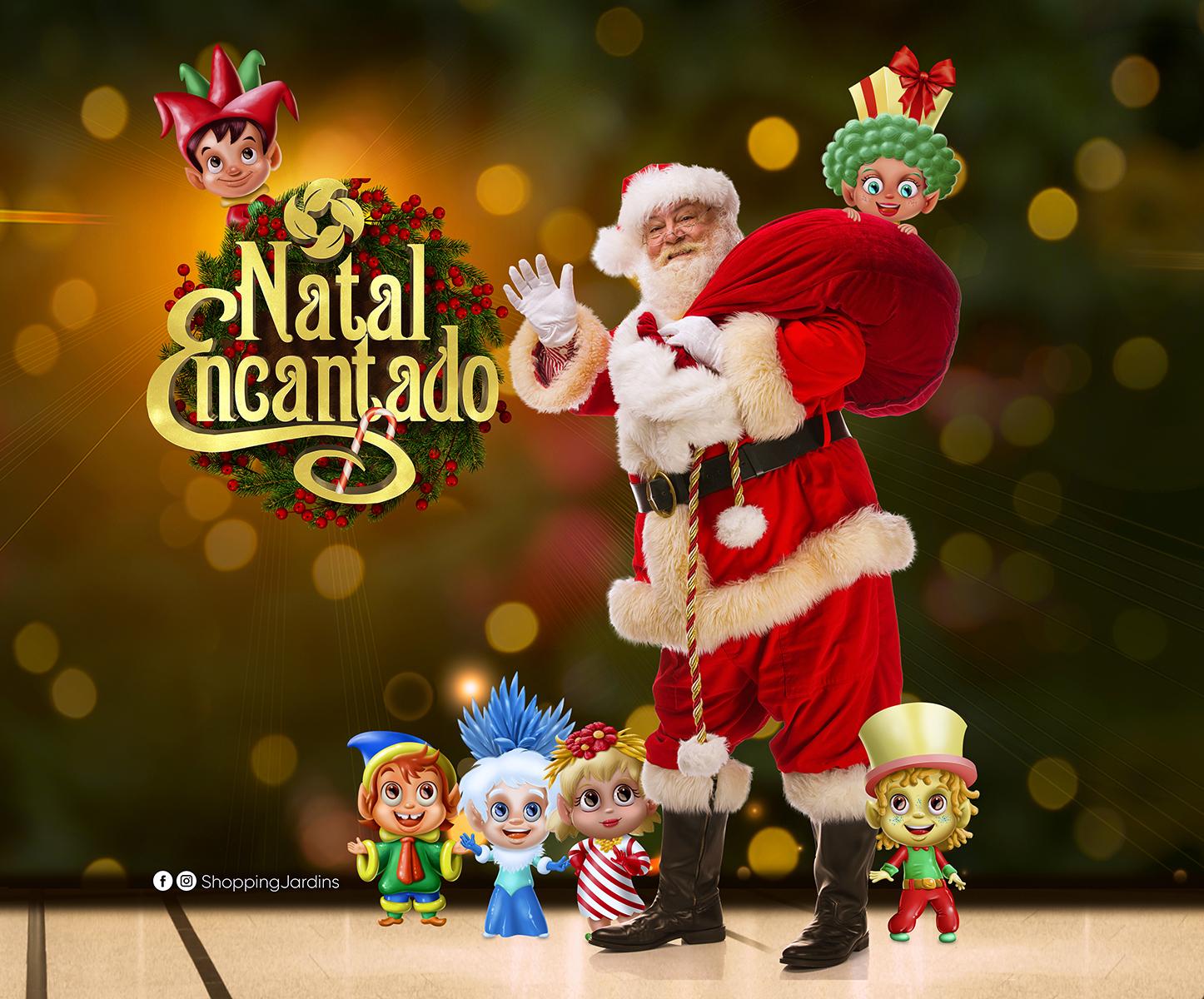 Papai Noel chega ao Shopping Jardins no dia 13 de novembro.jpg